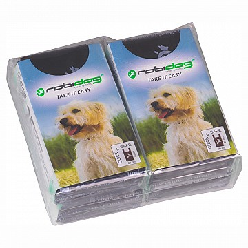 TAKE IT EASY – set with 4 packs of 25 dog-waste bags 200x400mm